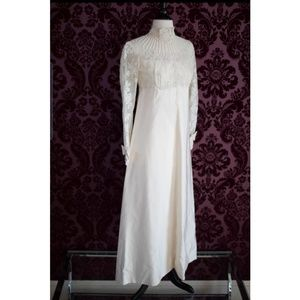 Vintage 1950s Priscilla of Boston Wedding Gown